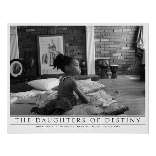 The Daughters Of Destiny: Amira Senayet Poster