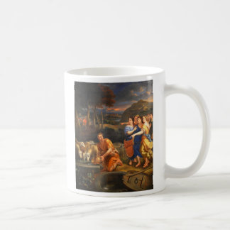 The Daughters of Jethro by Theophile Hamel 1838 Coffee Mug
