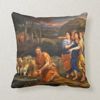 The Daughters of Jethro by Theophile Hamel 1838 Pillows