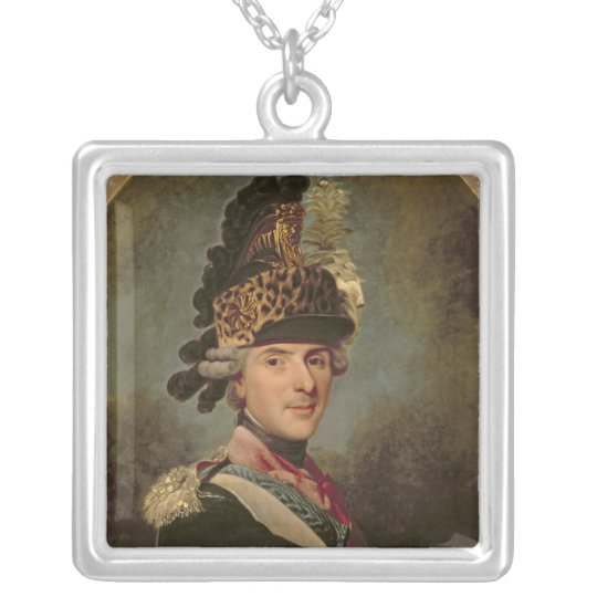 The Dauphin, Louis de France, 1760's Silver Plated Necklace