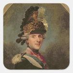 The Dauphin, Louis de France, 1760's Square Sticker