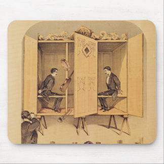 The Davenport brothers, poster for Seance, 1865 Mouse Pad