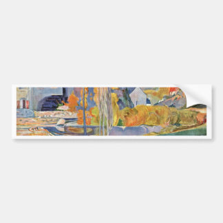 The David-Mill In Pont-Aven By Gauguin Paul Bumper Stickers