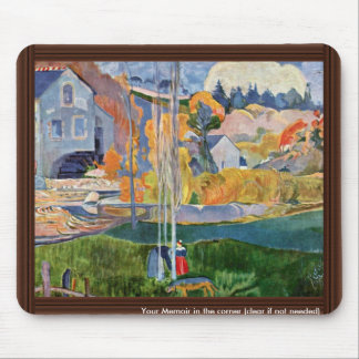 The David-Mill In Pont-Aven By Gauguin Paul Mouse Pad