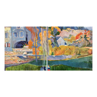The David-Mill In Pont-Aven By Gauguin Paul Photo Cards