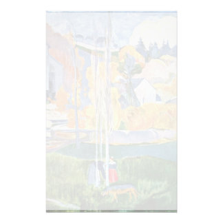 The David-Mill In Pont-Aven By Gauguin Paul Stationery