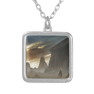 The Dawn After The Defeat Silver Plated Necklace