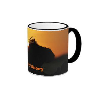 The Dawn of History Ringer Coffee Mug