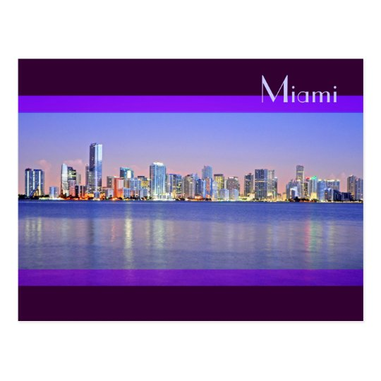 The dawning of the Magic City: Miami, Florida Postcard