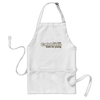 The Day CP Died Adult Apron
