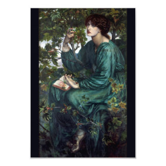 The Day Dream by Dante Gabriel Rossetti Card