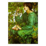 The Day Dream by Dante Gabriel Rossetti Cards