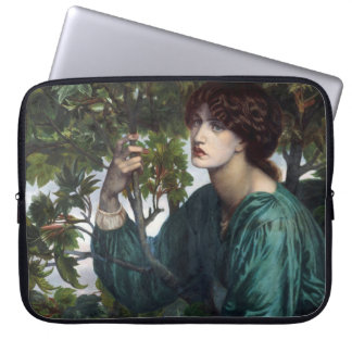 The Day Dream by Dante Gabriel Rossetti Computer Sleeve