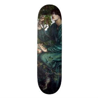 The Day Dream by Dante Gabriel Rossetti Skateboard