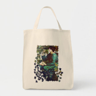 The Day Dream puzzle Grocery Tote Bag