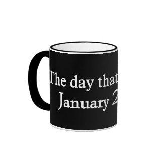 The day Hope died Coffee Mugs