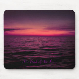The Day is Over Mouse Pad
