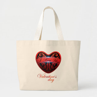 The day of San Valentin Tote Bags