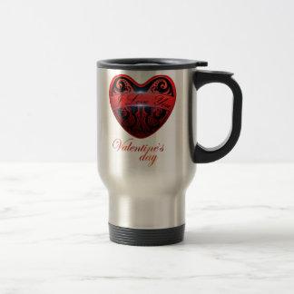 The day of San Valentin Travel Mug