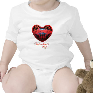 The day of San Valentin Romper