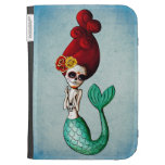 The Day of The Dead Beautiful Mermaid Kindle 3 Case