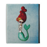 The Day of The Dead Beautiful Mermaid iPad Case