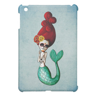 The Day of The Dead Beautiful Mermaid Case For The iPad Mini