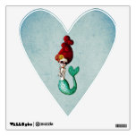 The Day of The Dead Beautiful Mermaid Wall Decals