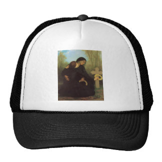 The Day of the Dead by William Adolphe Bouguereau Hat