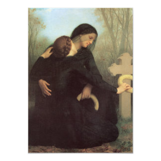 The Day of the Dead by William Adolphe Bouguereau Announcement