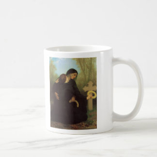 The Day of the Dead by William Adolphe Bouguereau Classic White Coffee Mug