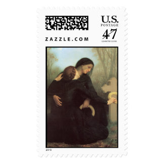 The Day of the Dead by William Adolphe Bouguereau Postage