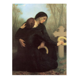 The Day of the Dead by William Adolphe Bouguereau Postcard