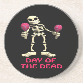 The Day Of The Dead Drink Coaster