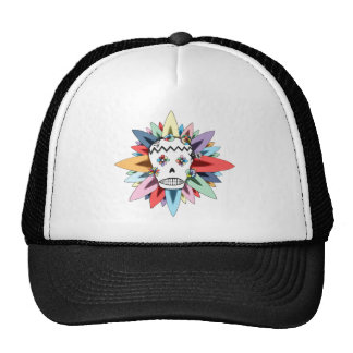 The Day of the Dead Colors Cap