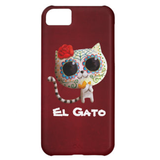 The Day of The Dead Cute Cat iPhone 5C Cover