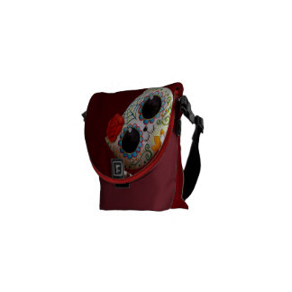 The Day of The Dead Cute Cat Courier Bag