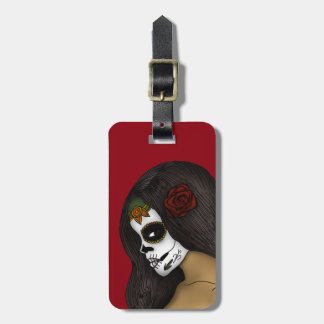 The Day Of The Dead Girl Tag For Luggage