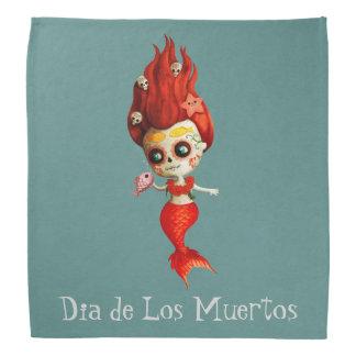 The Day of The Dead Mermaid Bandana