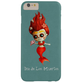 The Day of The Dead Mermaid Barely There iPhone 6 Plus Case