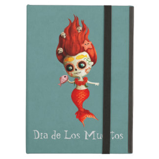 The Day of The Dead Mermaid Case For iPad Air