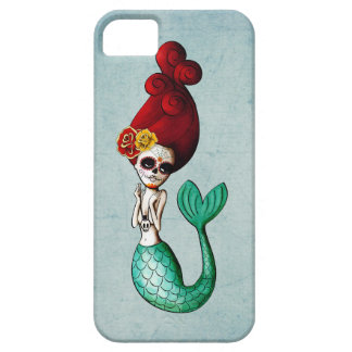 The Day of The Dead Mermaid Catrina iPhone SE/5/5s Case