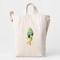 artsprojekt, mermaids, halloween, nautical gifts, mermaid art, halloween mermaid, day of the dead girls, mermaid gifts, day of the dead artwork, day of the dead designs, day of the dead woman, day of the dead skeletons, day of the dead catrina, mermaid stuff, day of the dead gifts, dia de muertos art, nautical gift ideas, [[missing key: type_groupestahl_bagguduckba]] with custom graphic design