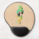 The Day of The Dead Mermaid Girl Gel Mouse Pad