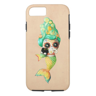 The Day of The Dead Mermaid Girl iPhone 8/7 Case