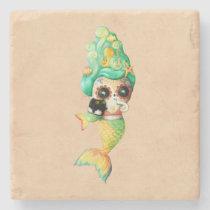 artsprojekt, mermaids, halloween, nautical gifts, mermaid art, halloween mermaid, day of the dead girls, mermaid gifts, day of the dead artwork, day of the dead designs, day of the dead woman, day of the dead skeletons, day of the dead catrina, mermaid stuff, day of the dead gifts, dia de muertos art, nautical gift ideas, [[missing key: type_giftstone_coaste]] com design gráfico personalizado