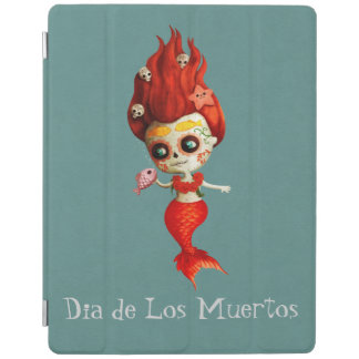 The Day of The Dead Mermaid iPad Smart Cover