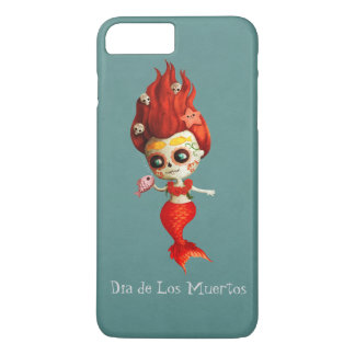The Day of The Dead Mermaid iPhone 8 Plus/7 Plus Case