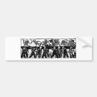 The Day of the Dead, Mexico. Circa 1936. Bumper Sticker