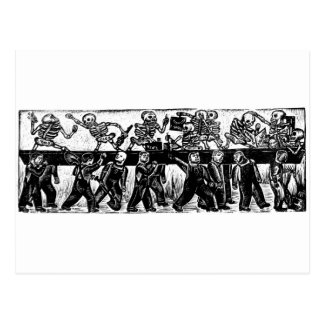 The Day of the Dead, Mexico. Circa 1936. Postcard